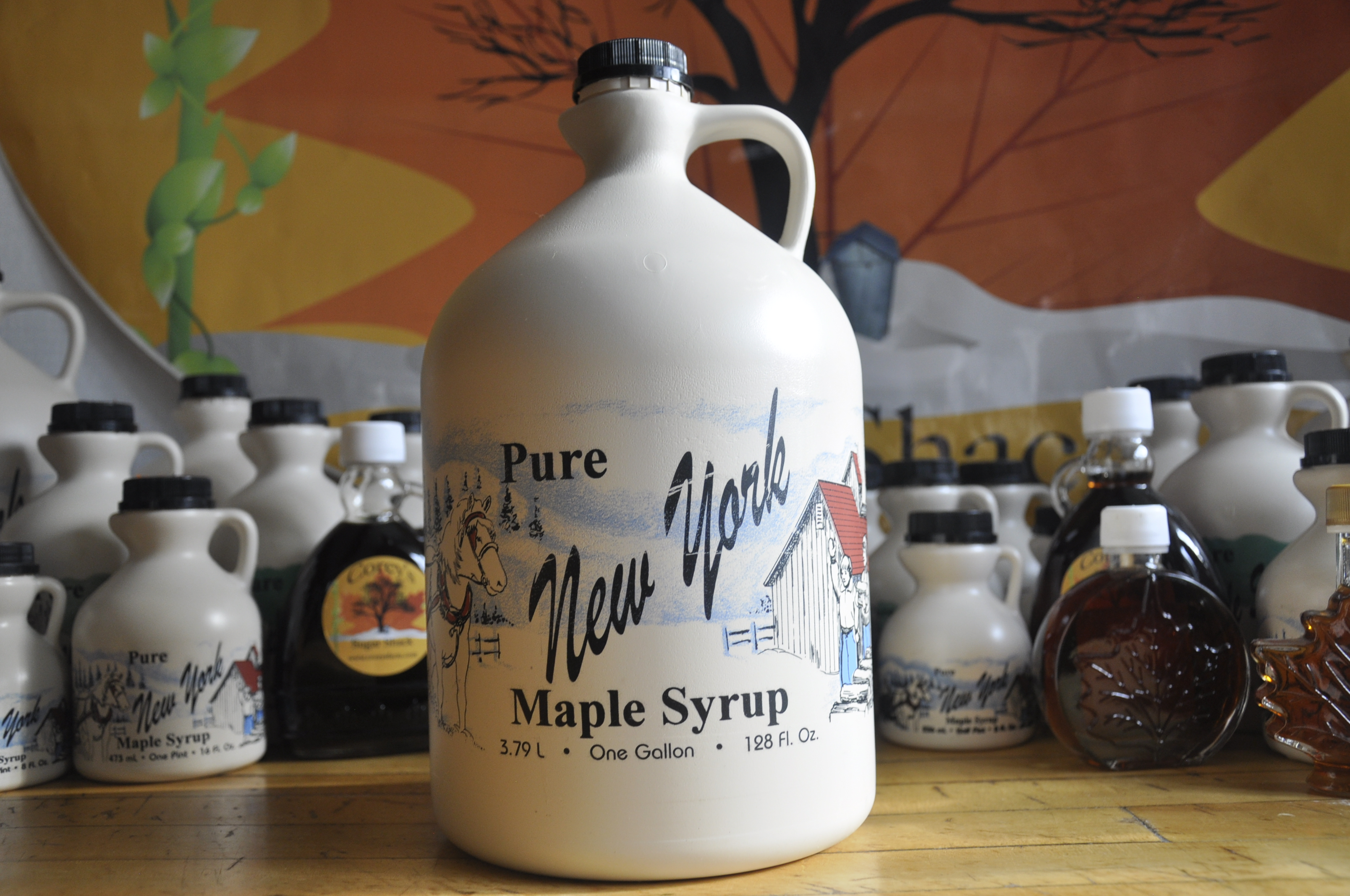 Maple Syrup Plastic - Gallon