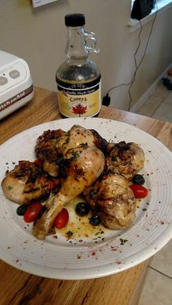 Garlic Maple Chicken