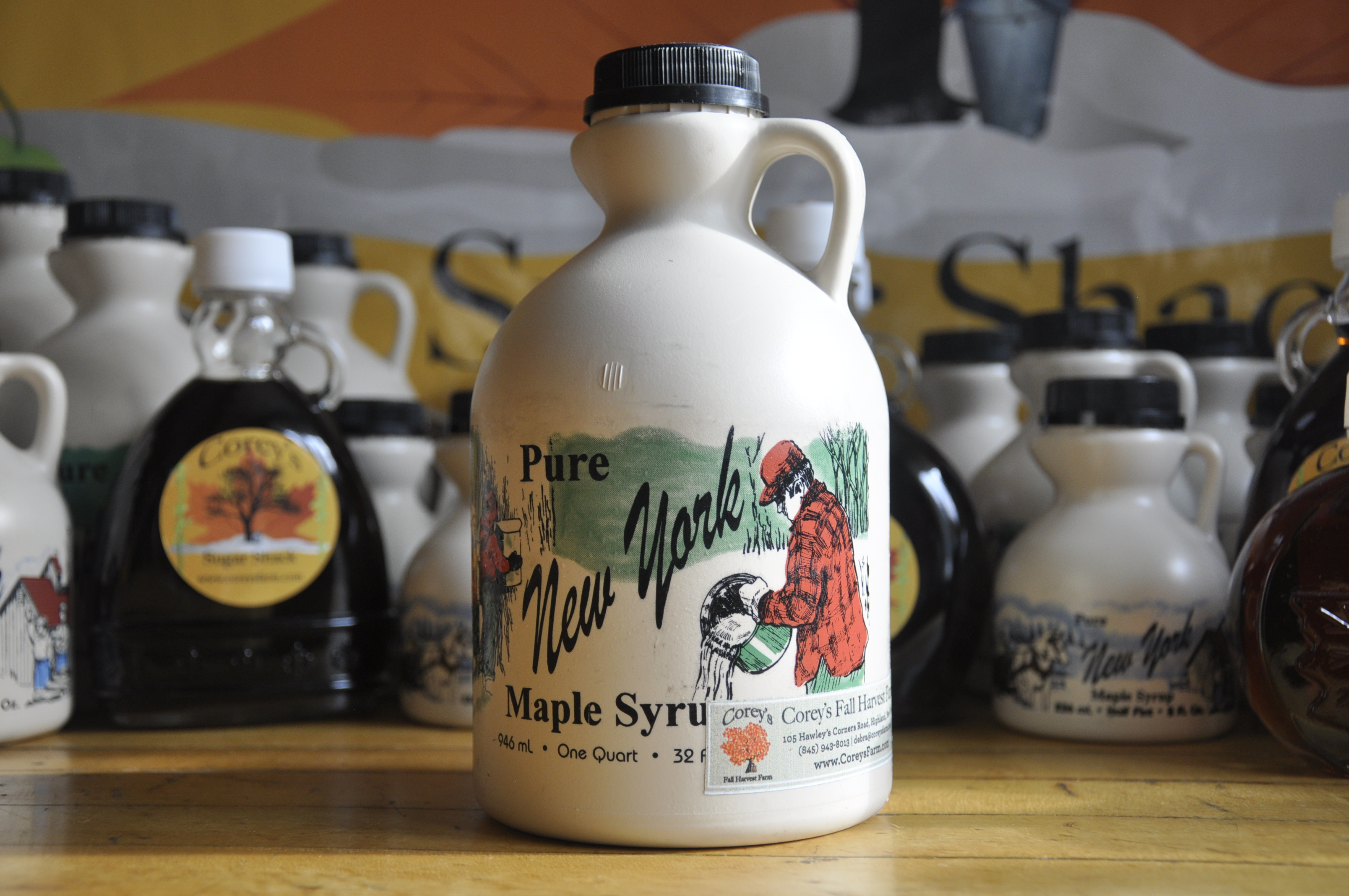 Maple Syrup Plastic - Quart