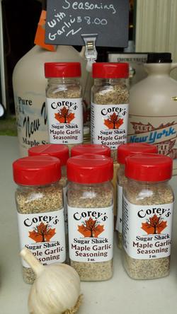 Maple Garlic Rub