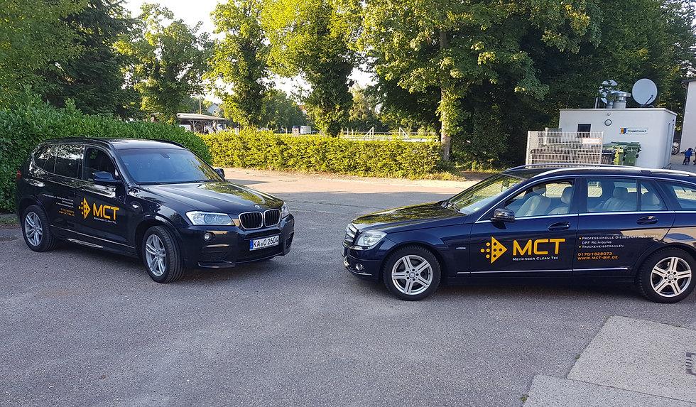 MCT Meininger Clean Tec Dieselpartikelfilter Reinigung zwei Autos BMW Mercedes Linkenheim-Hochstetten