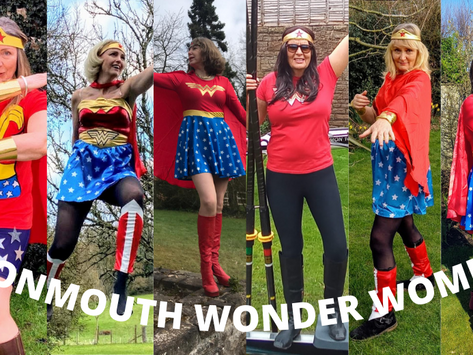 Monmouth's Wonder Women and Race the Thames