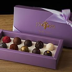 松露巧克力禮盒-10入 Truffle Gift Box (10)