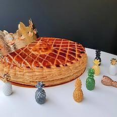 栗子鳳梨國王派 Galette with Chestnut and Pineappl