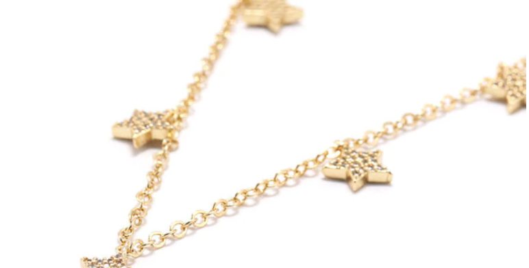 COLLAR GOLD STARS