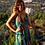 Thumbnail: BLUE BANANA WRAP DRESS