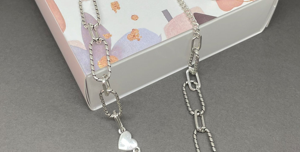 PACK SILVER HEART