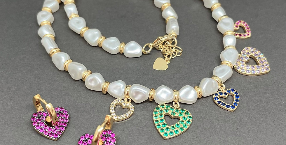 PACK PEARLS & HEARTS