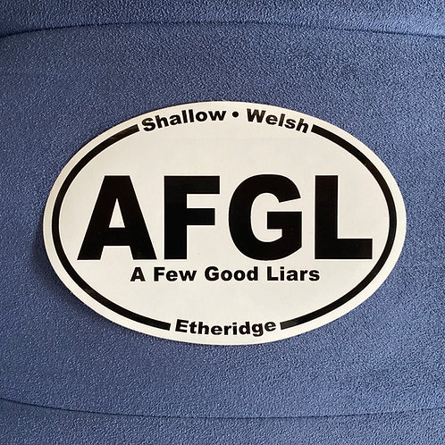"A Few Good Liars STICKER (3"" by 5"")"