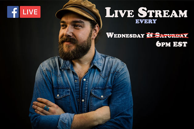 Travis Shallow Livestream on Facebook and YouTube