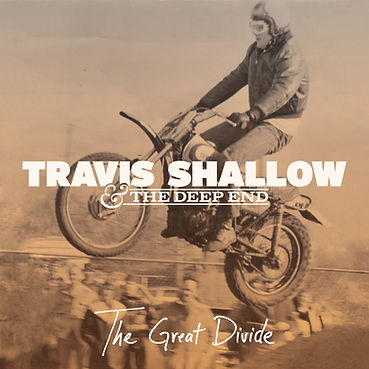 Travis Shallow album cover for The Great Divide