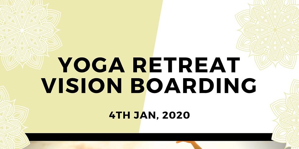 Yoga Retreat Vision Boarding