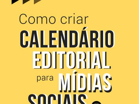 Como criar um calendário editorial estratégico?