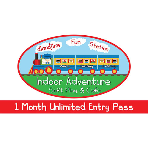 1 Months Unlimited Entry (3 Children)