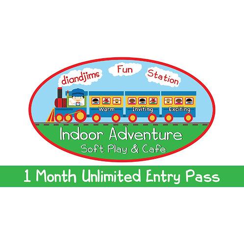1 Months Unlimited Entry (2 Children)