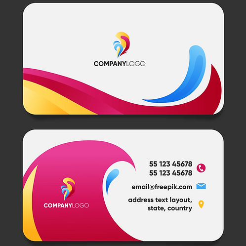 Round Cornered Business Cards