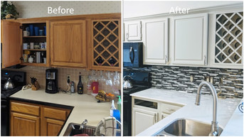Kitchen Cabinet Paint - The Remo Guys