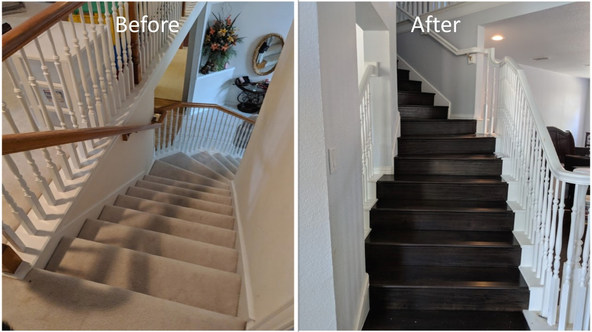 Stair Way Remodel - The Remo Guys