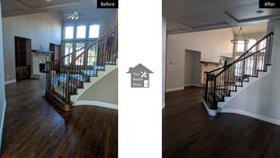 Entry way Remodel - The Remo Guys