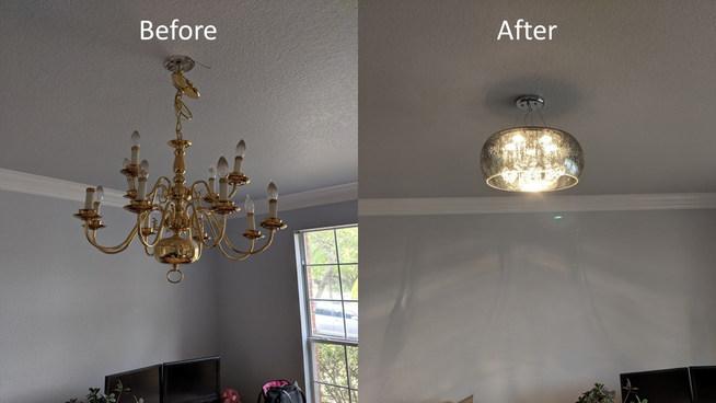 Lighting Fixture Installation - The Remo Guys