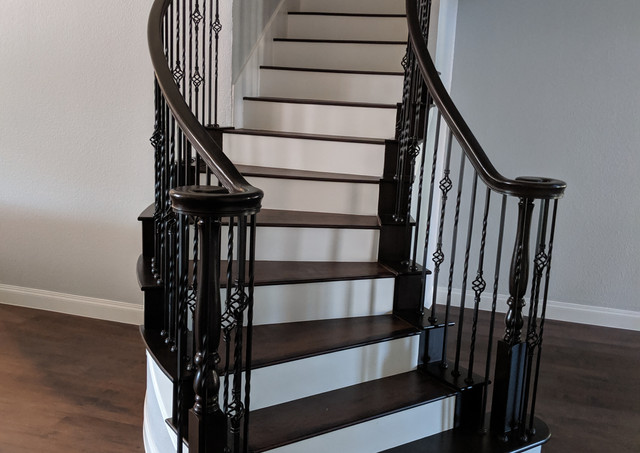 Flooring and steps