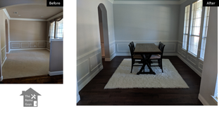 Dining room remodel - The Remo Guys