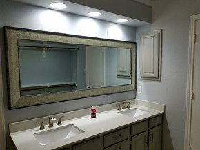 Custome Vanity and Mirror - The Remo Guys