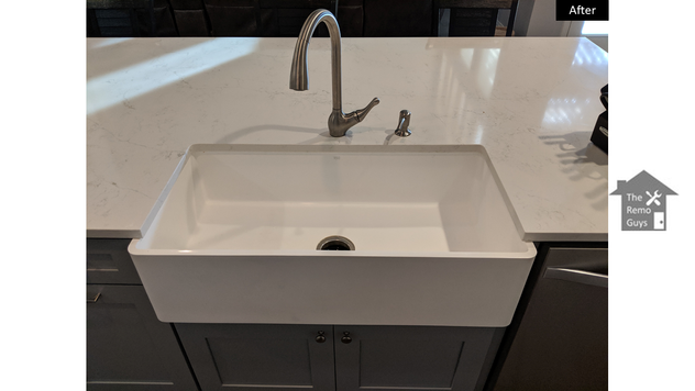 Farm house sink - The Remo Guys