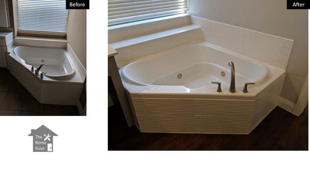Bath tub remodel - The Remo Guys