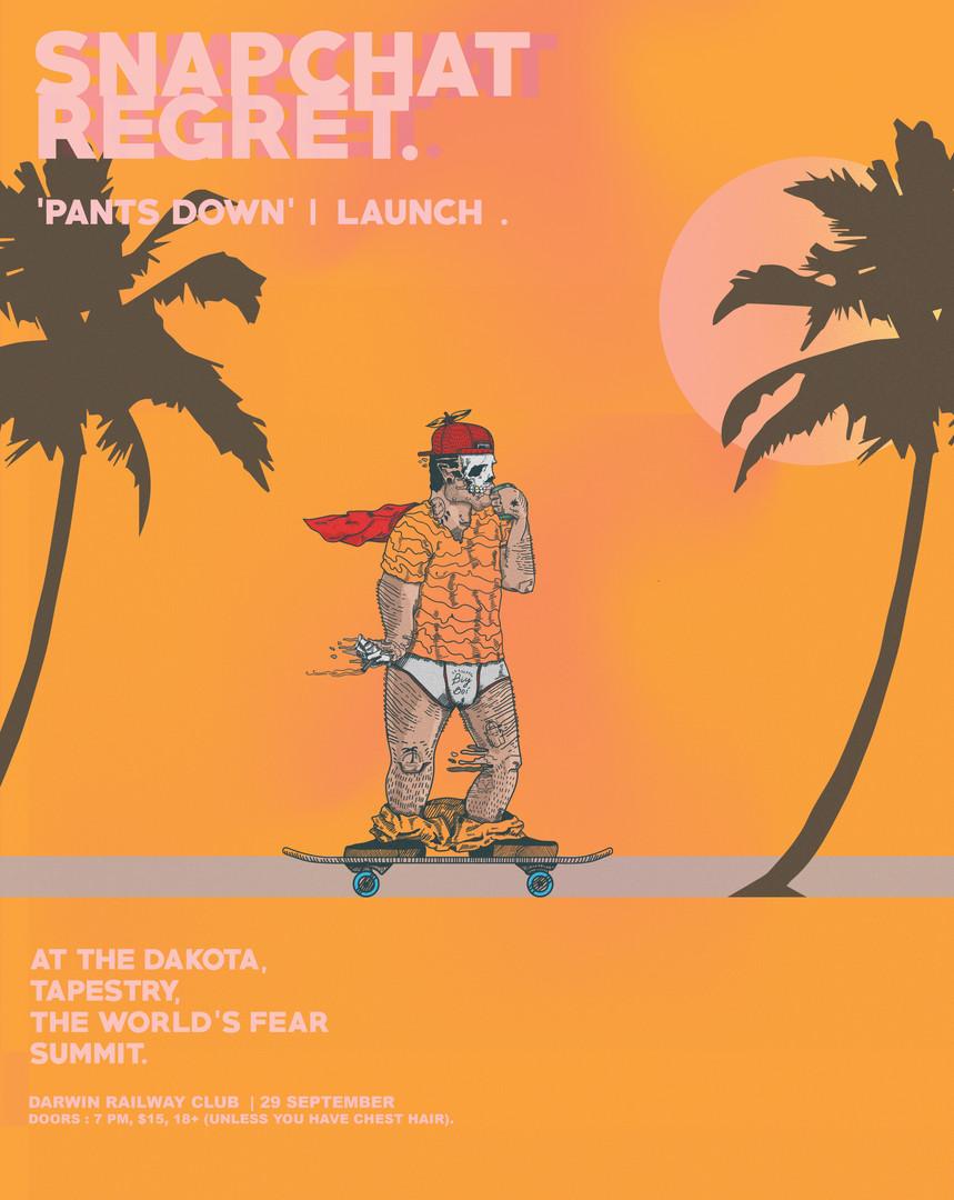 Pants Down EP Launch, 2017