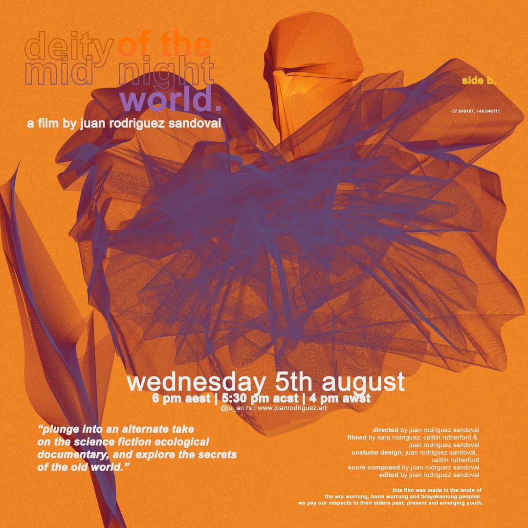 Deity of the Midnight World (Poster), 2020