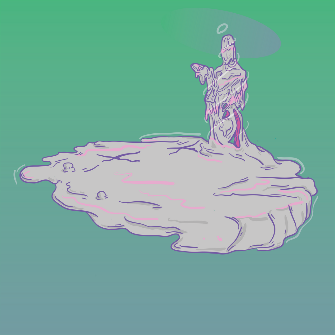 Melted Ghost, 2017