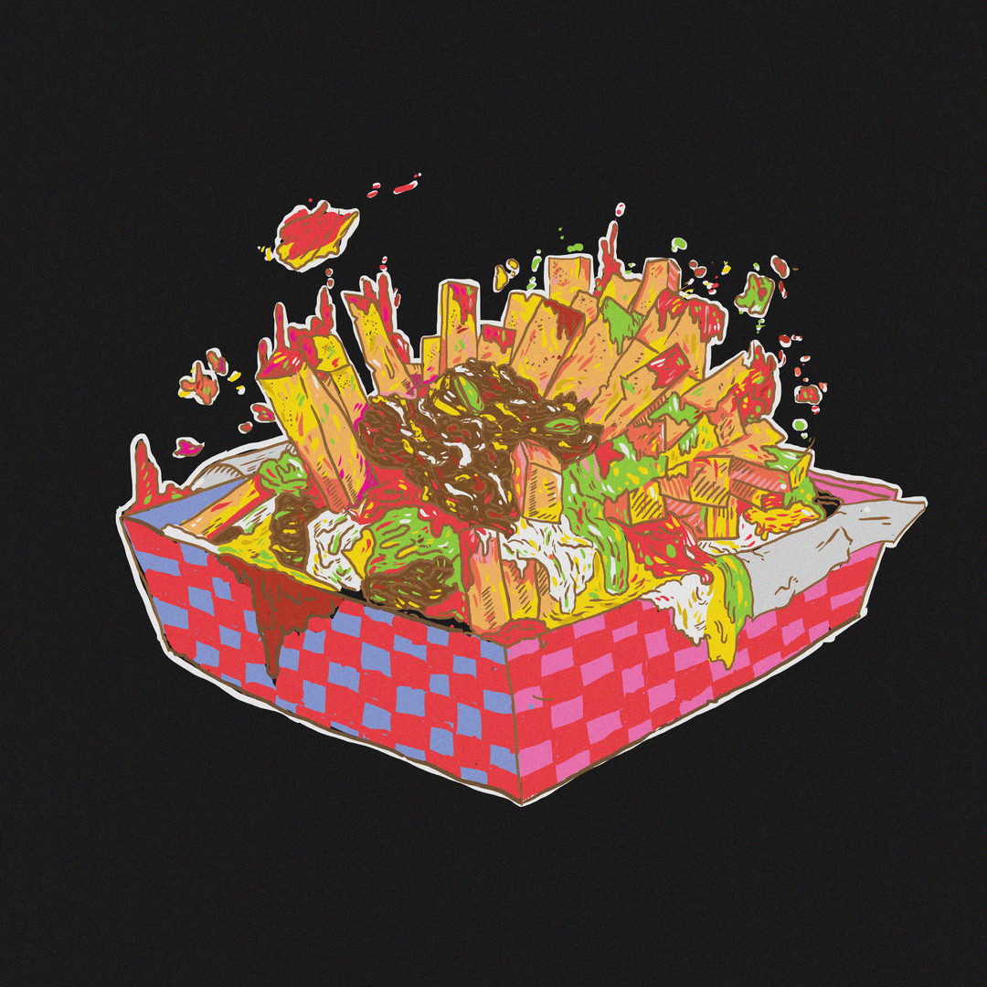 Sir John's Mural Concept: Loaded Fries