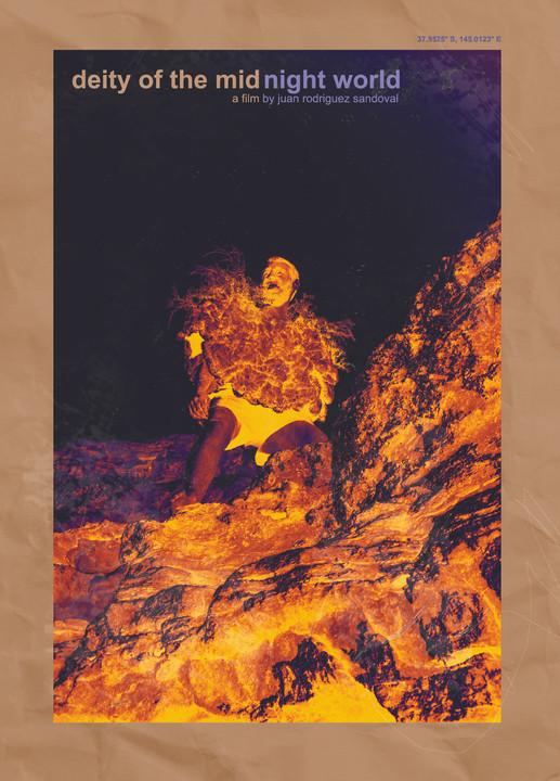 Deity of the Midnight World, 2020 - Poster