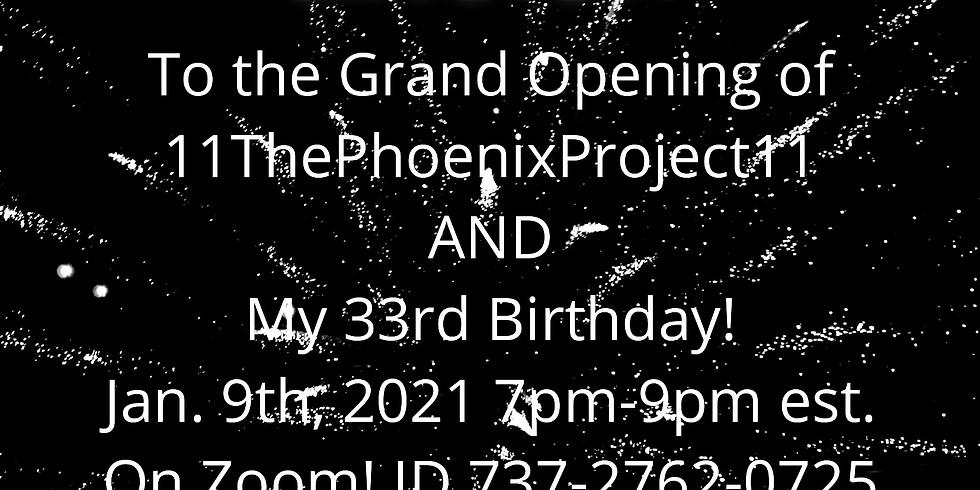 Grand Opening & Birthday