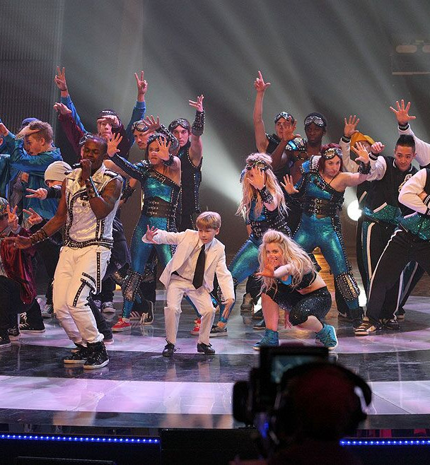 Dress Rehearsal for the Opening Number for the Grand Final