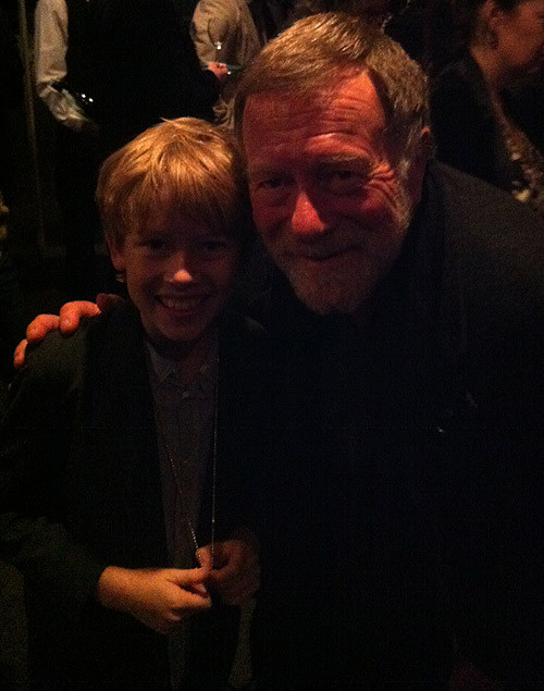 With Jack Thompson at the Opening Night After Party