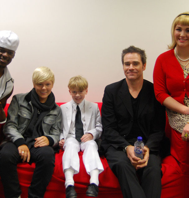 Backstage with Timomatic, Jack Vidgen, Stuart Biggens and Bree De Rome