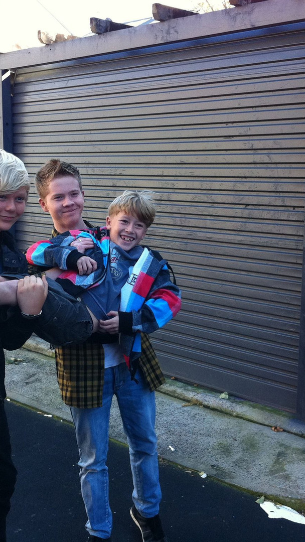 With Jack Vidgen and Liam Burrows for the story in New Idea