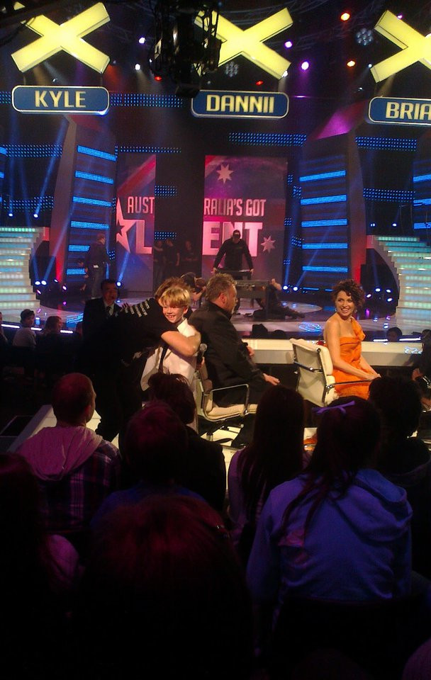After I was voted off the show with Kyle Sandilands