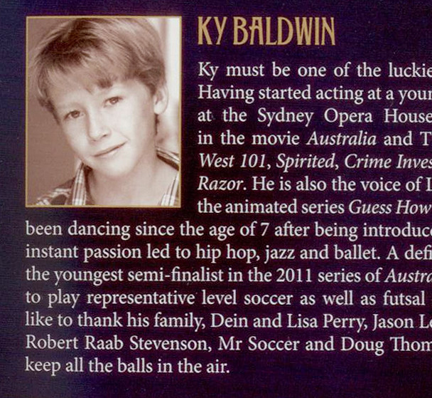 My bio in the programme