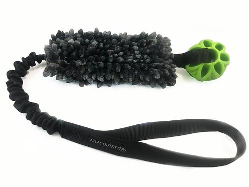 Ultimate Duster Ball Tug - Microfiber Bungee Ball Tug Toy