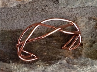 Braided Copper Cuff