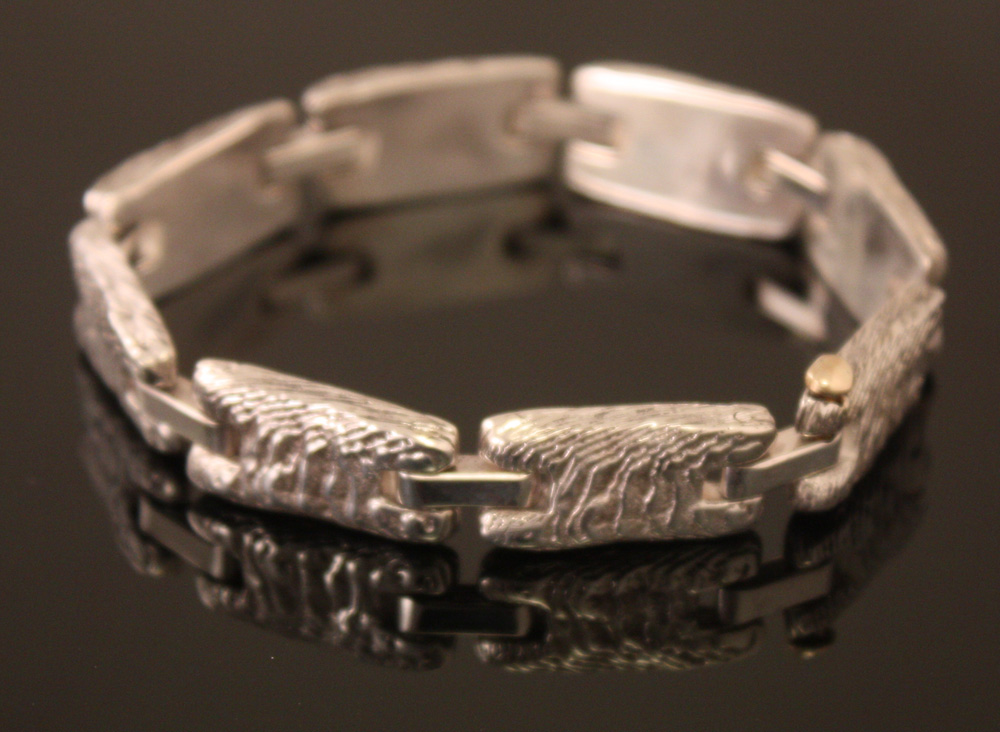 Reticulated Cuttlebone Bracelet