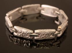 Reticulated Cuttlebone Bracelet