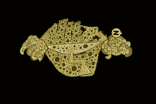Carrickalinga Map 1 Gold Lace, by Leith Semmens