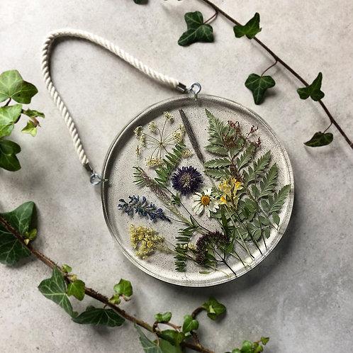 Kwietna łąka - okrągła, śr. 18 cm