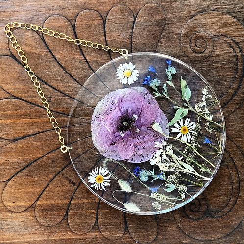 Kwietna łąka glam - okrągła, śr. 18 cm