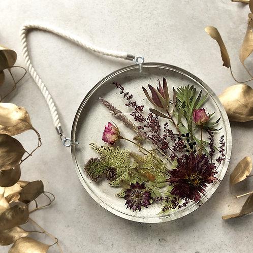 Ogrodowo-kwietna łąka - okrągła, śr. 18 cm