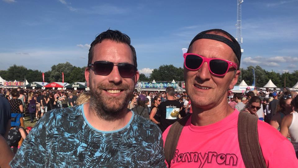 Pinkpoppen met Eric